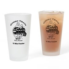 15 Mile Finisher Drinking Glass
