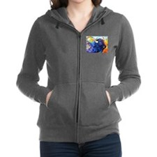 Buffalo, colorful art! Women's Zip Hoodie