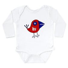 Unique Ku Long Sleeve Infant Bodysuit