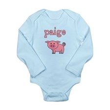 Unique Paige Long Sleeve Infant Bodysuit