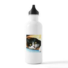 cat 301 tuxedo Water Bottle