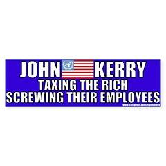 antijohn_kerry_tax_the_rich_bumper_bumper_sticker.jpg?color=White ...