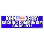 Anti-John kerry (Communism) Bumper Sticker
