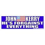 Anti-John Kerry (Flip Flop) Bumper Sticker