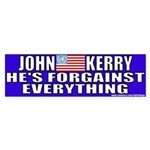 Anti-John Kerry (Flip Flop) Bumper Sticker