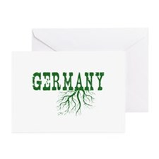 Germany Roots Greeting Cards (Pk of 20)