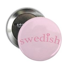 """Swedish with Heart"" 2.25"" Button (10 pack)"