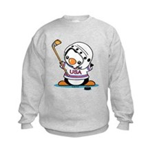 Ice Hockey Popo (1) Sweatshirt