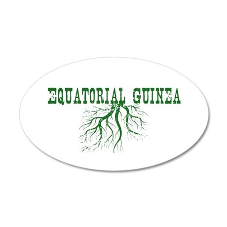 Eritrea Roots 20x12 Oval Wall Decal