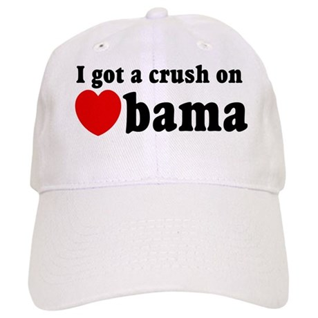I got a crush on Obama (red h Cap