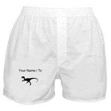 Velociraptor Silhouette (Custom) Boxer Shorts