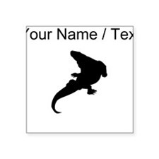 Varanosaurus Silhouette (Custom) Sticker