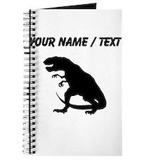 Tyrannosaurus Rex Silhouette (Custom) Journal