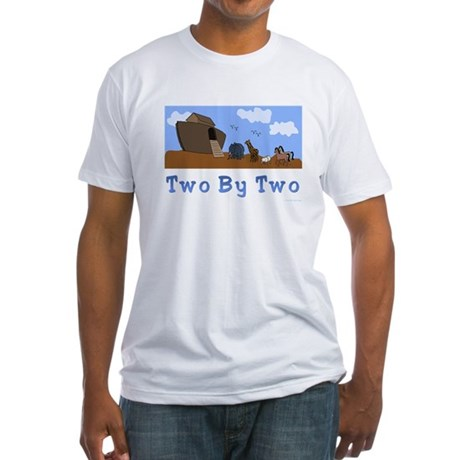Noah's Ark Two By Two Fitted T-Shirt
