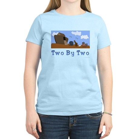 Noah's Ark Two By Two Women's Light T-Shirt