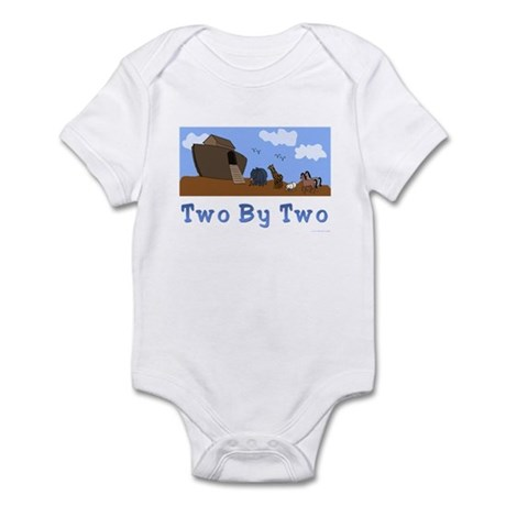 Noah's Ark Two By Two Infant Bodysuit