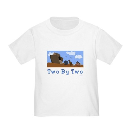 Noah's Ark Two By Two Toddler T-Shirt