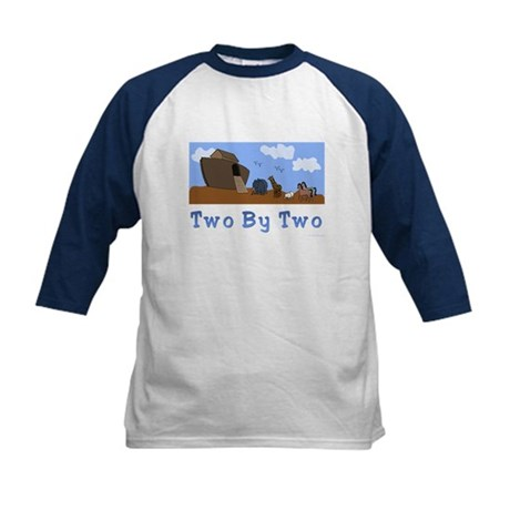Noah's Ark Two By Two Kids Baseball Jersey