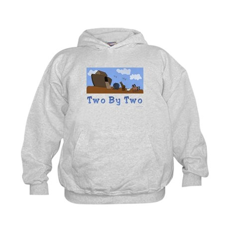 Noah's Ark Two By Two Kids Hoodie
