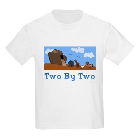 Noah's Ark Two By Two Kids Light T-Shirt