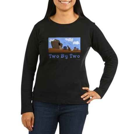 Noah's Ark Two By Two Women's Long Sleeve Da