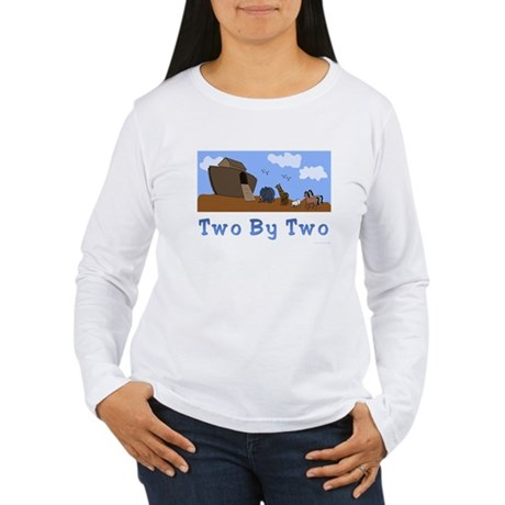 Noah's Ark Two By Two Women's Long Sleeve T-