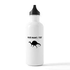Spinosaurus Silhouette (Custom) Water Bottle
