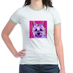 Cairn Terrier Jr. Ringer T-Shirt
