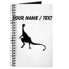 Dinosaur Silhouette (Custom) Journal