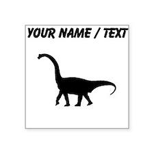 Brachiosaurus Silhouette (Custom) Sticker