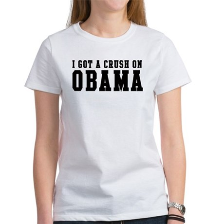 Crush on Obama 08 Women's T-Shirt