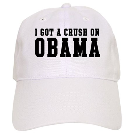 Crush on Obama 08 Cap