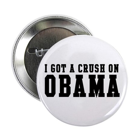 Crush on Obama 08 Button