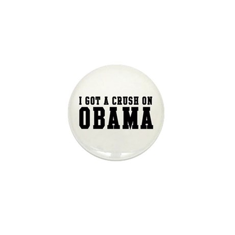 Crush on Obama 08  Mini Button (100 pack)