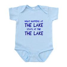 Happens at lake stays Infant Bodysuit