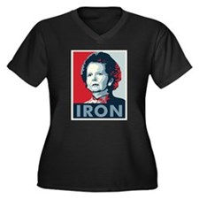 Margaret Thatcher Plus Size T-Shirt