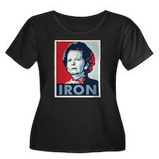 Margaret Thatcher Plus Size T-Shirt