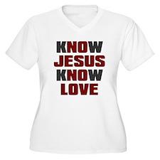 Know Jesus Know L T-Shirt