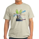 &quot;I Love Parakeets&quot; T-Shirt