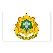 2nd Aromred Cavalry Regiment Sticker (Rectangular
