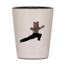 Ninja Kitten Shot Glass