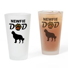 Newfie Dad Drinking Glass