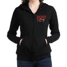 Boss Lady Bling Women's Zip Hoodie