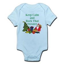 Keep Calm and Rock That Sweater Body Suit