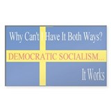 Sweden Democratic Socialist Decal
