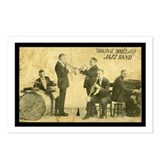 Original Dixieland Jazz Band Postcards (8)