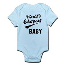 World's Okayest Baby Infant Bodysuit