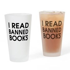 I read banned books Drinking Glass