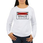 Attitude Monacan Women's Long Sleeve T-Shirt