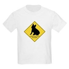 French Bulldog crossing T-Shirt